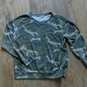 American eagle camouflage sweatshirt medium